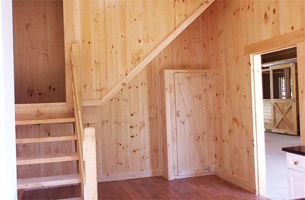 E Ct Barn Stairs Post And Beam