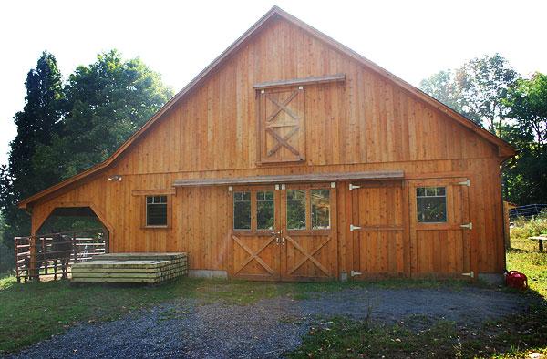 Bethany Ct Custom Barns The Post And Beam Construction