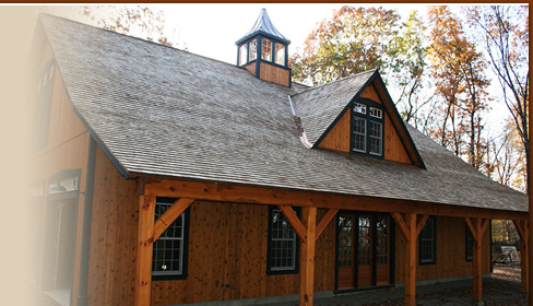 Welcome to New England Custom Barns - The CT Post and Beam